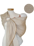Storchenwiege Leo Natural  Ring Sling