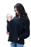 Suse's Kinder Fleece Jacket For Front and Back Babywearing and Pregnancy