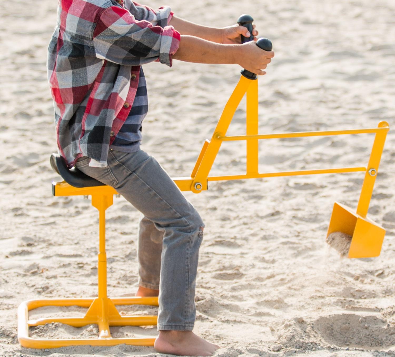 Tough Kid Sand Digger Heavy Duty Sandbox Backhoe Toy