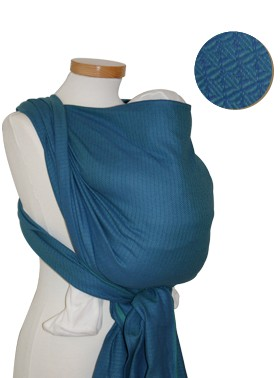 Storchenwiege Leo Turquoise Baby Wrap