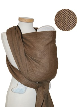 Storchenwiege Leo Cafe Baby Wrap