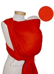 Storchenwiege Leo Orange Baby Wrap
