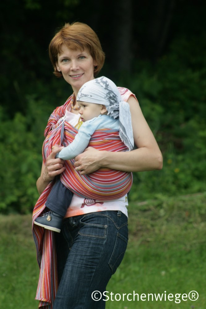 Storchenwiege Lilly Ring Sling
