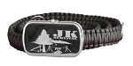 JK Survival Para-cord Belt Includes Supplies to Survive