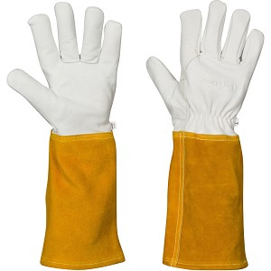 Welding Gloves for Women and Men Fireproof Heat Resistant, Top Grain Cowhide Kevlar Lined Hand Weld